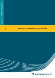 Retningslinjer for svangerskapsomsorgen - Langnes Legesenter AS