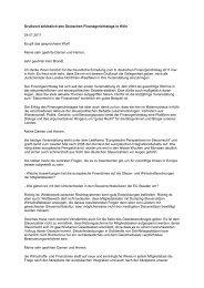 Grußwort anlässlich des Deutschen Finanzgerichtstags in Köln ...