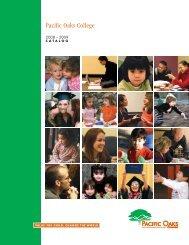 POC catalog 2008 - Pacific Oaks College
