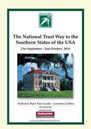 The National Trust Way to the Southern States of the USA 21st ...