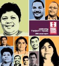 TWENTY YEARS TWENTY YEARS - Equal Exchange