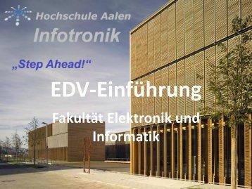 Unterlagen zur IT Einführung [PDF] - Hochschule Aalen - Fakulät für ...