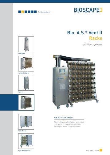 Bio. A.S.® Vent II Racks