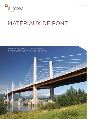 MATÉRIAUX DE PONT - Armtec