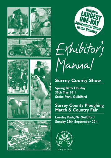 Trade 1 Exhib Manual 11.pdf - Surrey County Agricultural Society