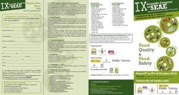 Congress flyer - Organic Europe