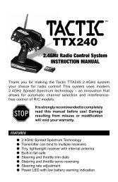 Tactic TTX240 - Robot MarketPlace