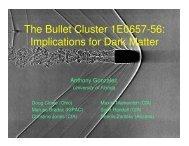The Bullet Cluster 1E0657-56: Implications for Dark Matter
