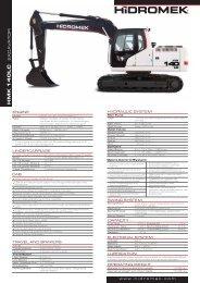 140 LC Gen Series - English Product Leaflet - Hidromek