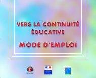 la continuité éducative - La Jeunesse au Plein Air