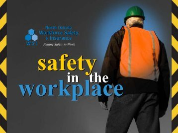 in the - the North Dakota Safety Council