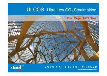 Presentatie over ULCOS op Nationale ... - Duurzaam in staal
