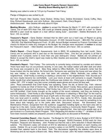 April 21 Minutes - Lake Como Beach Property Owners Association ...