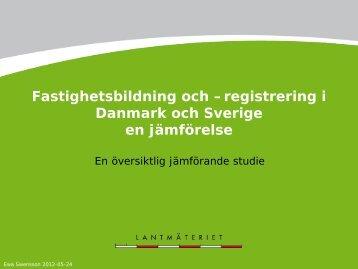 presentation - Svenska Kommunal-Tekniska Föreningen