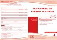 Tax Planning On Current Tax Issues 2012.ai - The Malaysian ...