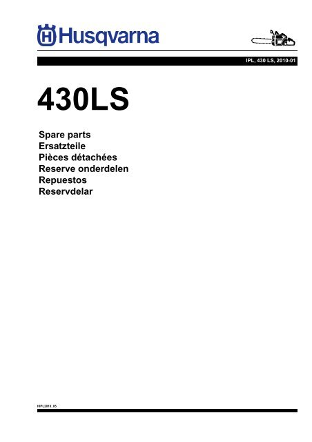 IPL, 430 LS, 2010-01, Brush Cutter - Small Engine Parts