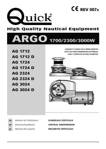 ARGO 1700/2300/3000W