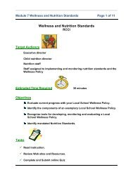 Module 1: Introduction - Nutrition, Food Science, and Packaging