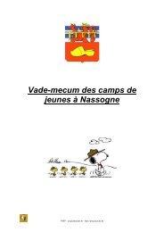 camps de jeunes à Nassogne j 2012 - PSSP
