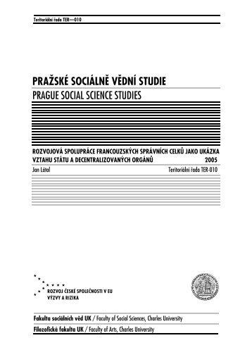 190 kB - publikace FSV UK