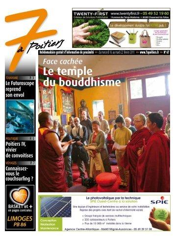 n° 67 voir ce numéro - 7 à Poitiers