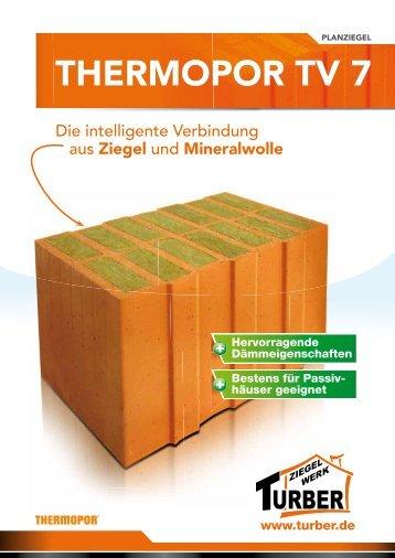 Informations-PDF - Ziegelwerk TURBER
