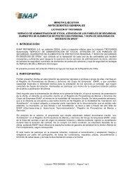 minuta ejecutiva antecedentes generales 1. introducción: 2 ... - Enap