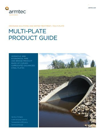 MULTI-PLATE PRODUCT GUIDE - Armtec