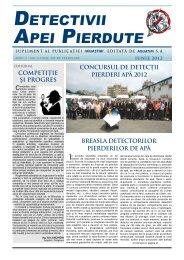 Detectivii Apei Pierdute nr. 4, anul 2 / iunie 2012 - Aquatim