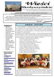 Nr 5/2008 - Biuletyn Informacji Publicznej, Urząd Gminy Skołyszyn
