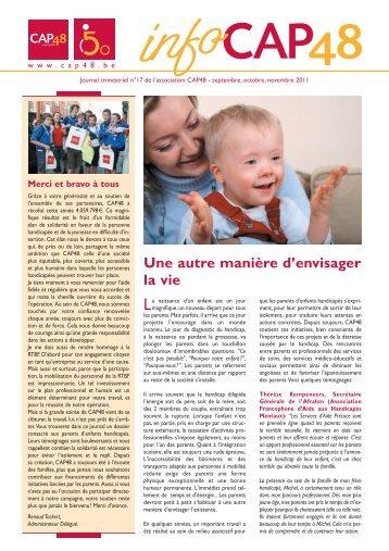 Info CAP48 n°17 octobre 2011 - Rtbf