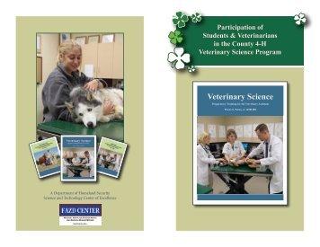 Veterinary Science - Extension Veterinary Medicine
