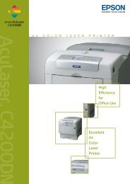 High Efficiency for Office Use Excellent A4 Color Laser Printer - Epson