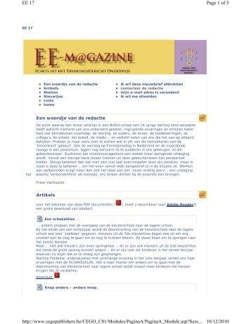 klik hier - CEGO Publishers