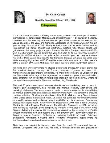 Dr. Chris Castel Entrepreneur - Squarespace