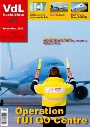 Operation TUI GO Centre - Verband der Luftfahrtsachverständigen