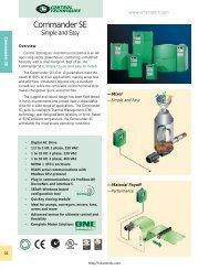 Commander SE Brochure - Northern Industrial