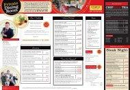 A la carte menu - Ribby Hall Village