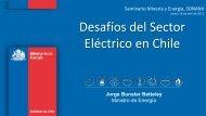 Desafíos del Sector Eléctrico en Chile - Sonami