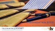 Mediadaten 2013 - Telematik Markt