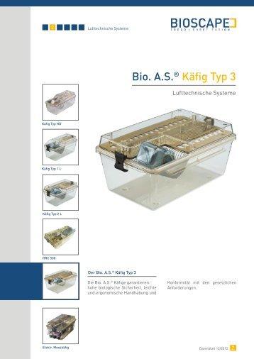 Bio. A.S. ® Käfig Typ 3 (pdf)