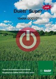 Duett® Super - BASF Türkiye Bitki Koruma Bölümü