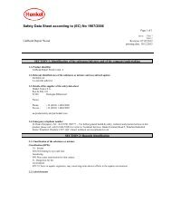 safety data sheet unibond repair wood power epoxy ... - Toolbank