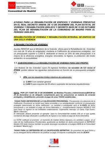AYUDAS PARA LA REHABILITACIÓN DE EDIFICIOS Y VIVIENDAS ...