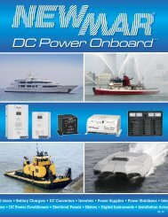 To Download Our Complete Marine Catalog In PDF Format - Newmar