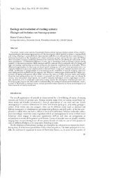 Ecology and evolution of mating systems - uli-reyer.ch