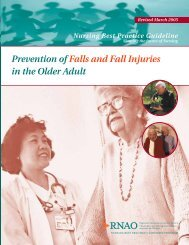 Prevention of Falls and Fall Injuries in the Older Adult - Long-Term ...