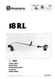 Husqvarna 18RL Trimmer 05 - 1988 - Barrett Small Engine