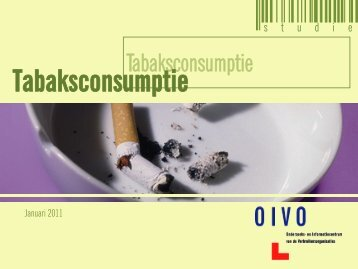 Tabaksconsumptie - Crioc