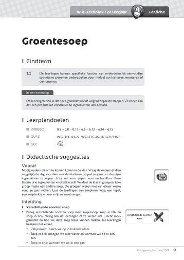 Groentesoep - Averbode